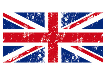 Vector illustration of the flag of Great Britain