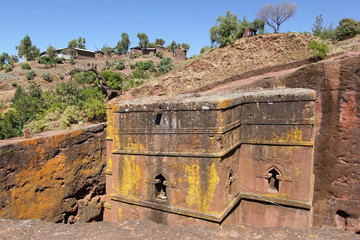 Felsenkirche St. Georg, Lalibela, Äthiopien, Afrika