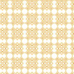 Seamless geometric floral pattern