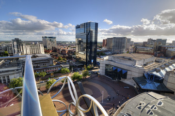 Centenary Square, Birmingham, UK.