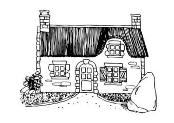 Maison bretonne - Bretagne