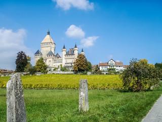 Le château de Vufflens-le-Château