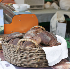 typical tuscany bread made in Casola called marocca