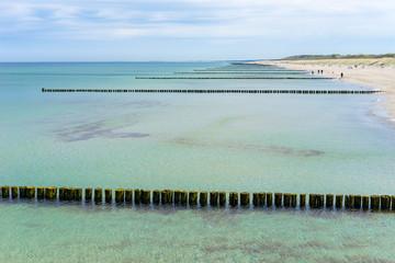 Ostseestrand auf dem Darß
