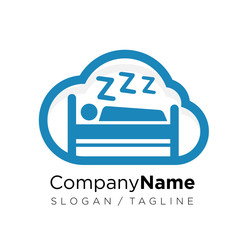 Cloud logo icon vector