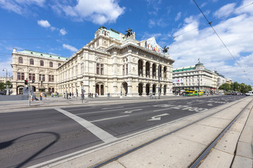 The State Opera House of Vienna - Austria