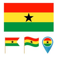 Ghana, country flag
