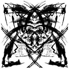 Distress Background Symmetry