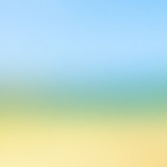 Abstract colorful blurred vector background. Sea and sky style