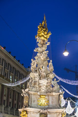 Plague Column, Vienna, Austria