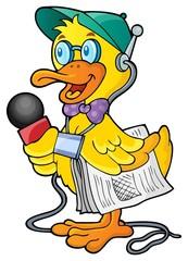 Duck reporter theme image 1