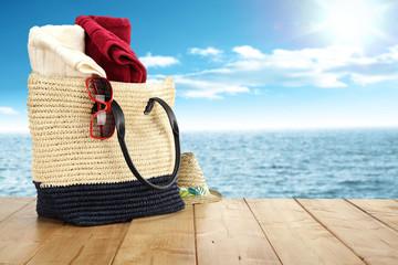 sea and bag