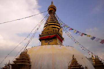 18-APR-2015-Swayambhunath Stupa Nepal, Kathmandu