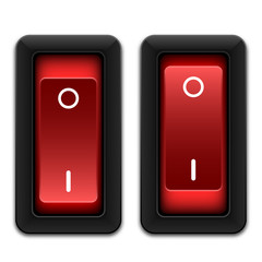 Power switches icon, vector