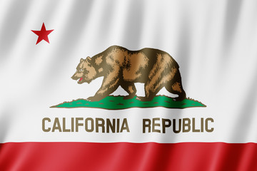 Flag of California Wall mural