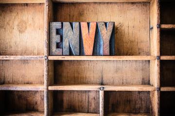 Envy Concept Wooden Letterpress Theme