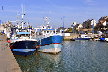 Port-en-Bessin in France