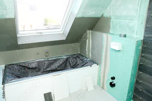badsanierung stockfotos und lizenzfreie bilder auf. Black Bedroom Furniture Sets. Home Design Ideas