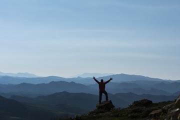 başarılı zirve tırmanışı