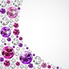 Abstract Luxury Diamond Background Vector Illustration