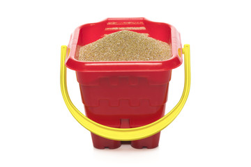 Sand Pail isolated on white background
