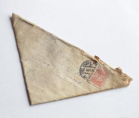 triangular letter