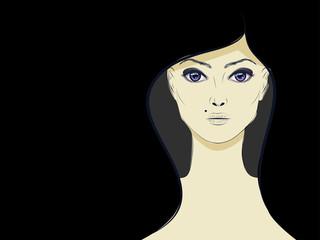 Lineart Girl