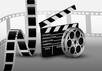 Film strip. Vector illustration