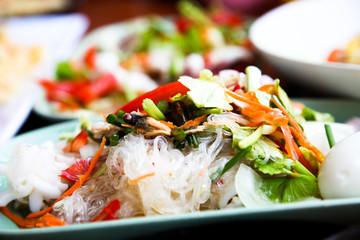 Thai spicy vermicelli salad