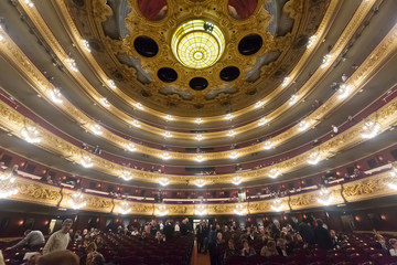 Beethoven Concert in The Gran Teatre del Liceu