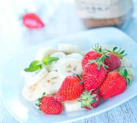 strawberry with banana