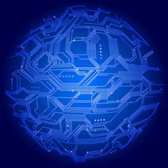 Globe circuit board