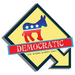 Symbol of US Democratic Party