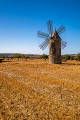 Foto op Canvas Molens Mallorca island