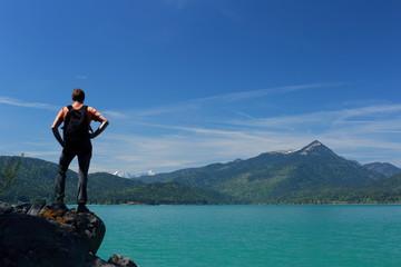 Aussichtsplatz am See