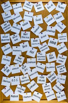 Business Buzzwords Board