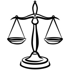 Legal Scales Abstract