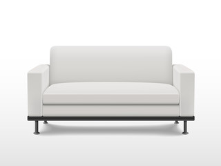 graceful blank sofa
