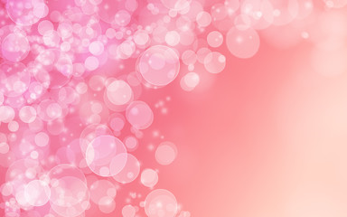 Wall Mural - Abstract pink background
