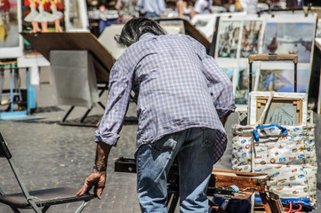 Arista a Piazza Navona