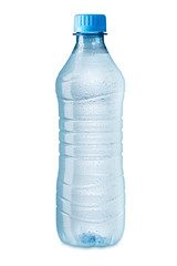 ice cold water bottle