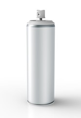 Spray Can isolated on a white back ground