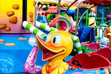 children's carousel Duckling
