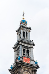 Tower of Wester Kerk, Amsterdam, Netherlands