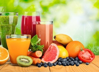 Poster de jardin Jus, Sirop Fruit, drink, grape.