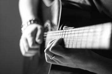 guitar practice alone