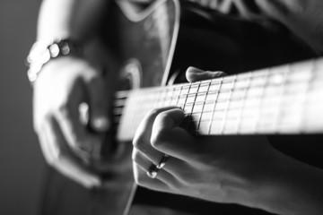 guitar practice at home
