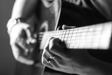 guitar chords on fret