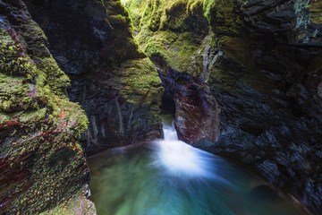 Devils Cauldron in Lydford Gorge, Devon