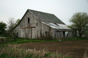 Old barn on a farm